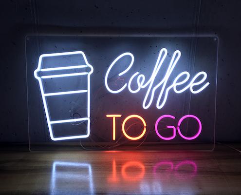 Coffee Led Sign